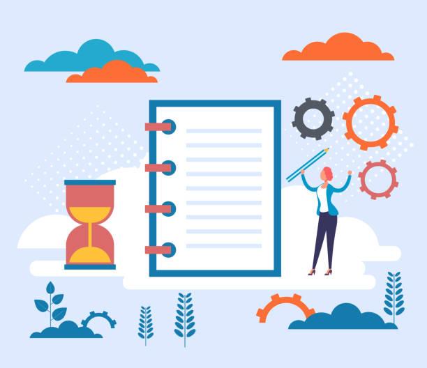 Guideline corporate rules policies concept. Vector flat cartoon graphic design illustration vector art illustration