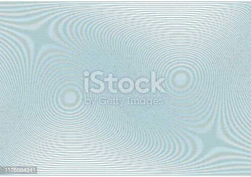 Guilloche background. Grid for Certificate, diplomas and Gift voucher. Vector illustration.