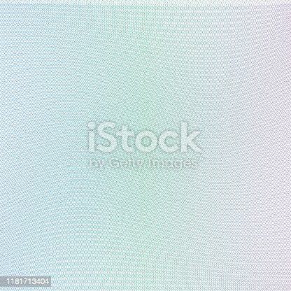 istock Guilloche grid, template for diplomas, certificates, documents 1181713404