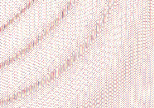 Guilloche vector background grid. Flag wave.