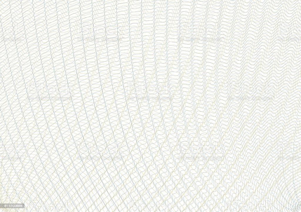 Guilloche vector background grid. Te vector art illustration