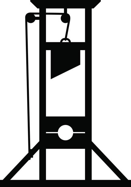 Royalty Free Guillotine Clip Art, Vector Images ...