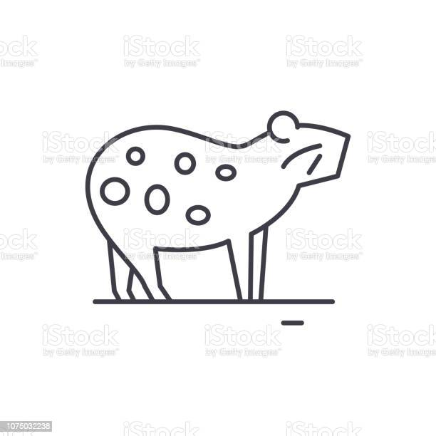 Guinea pig line icon concept guinea pig vector linear illustration vector id1075032238?b=1&k=6&m=1075032238&s=612x612&h=zd6vqgo601ffecxvmsy5wyspk3pbqmvaykchyld0mlw=