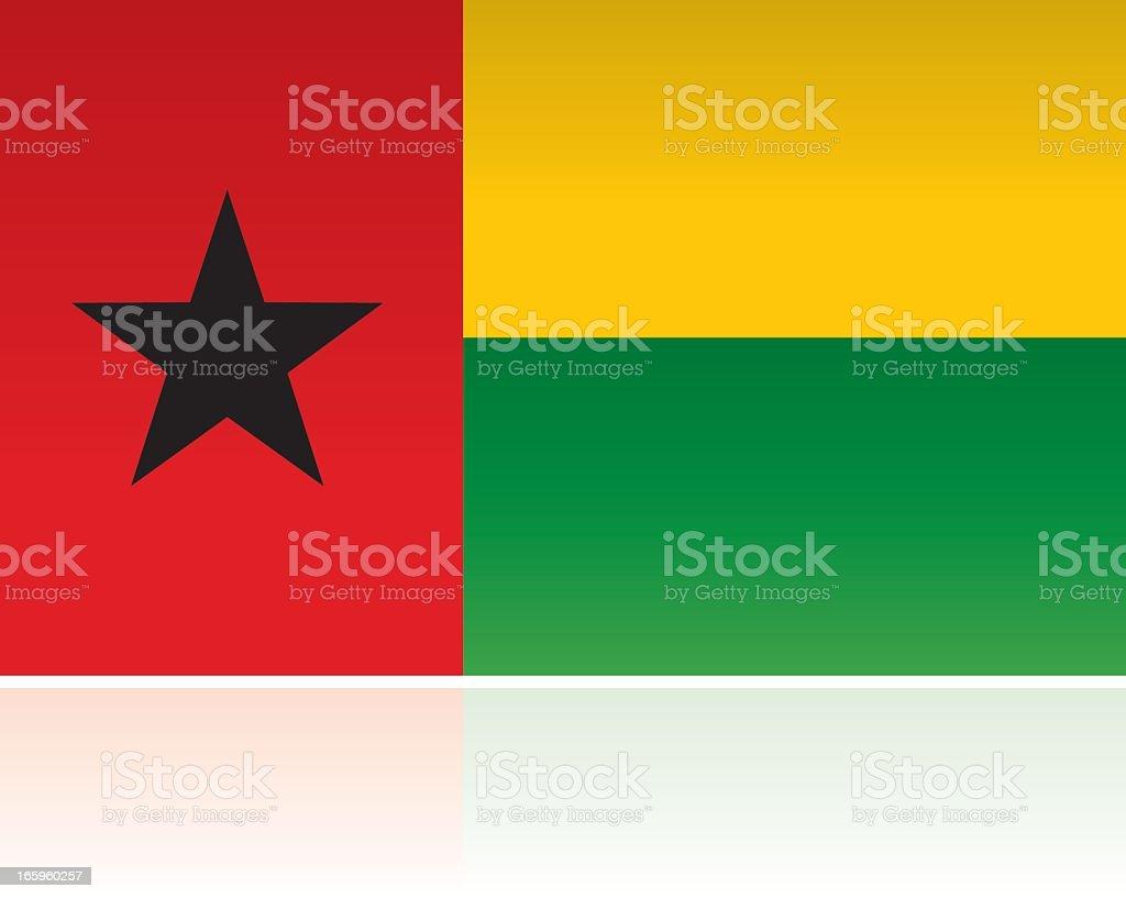 ギニアビサウ国国旗アフリカ西部...