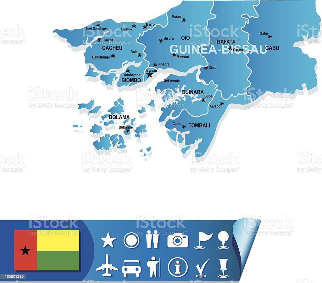 Guineabissau Map stock vector art 165801293 iStock