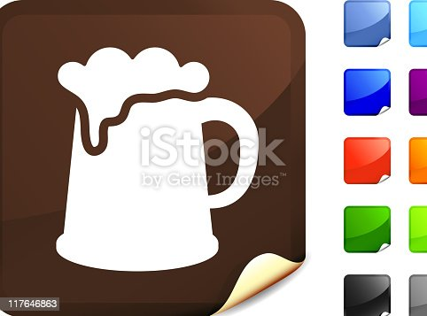 istock Guinness beer mug internet royalty free vector art 117646863