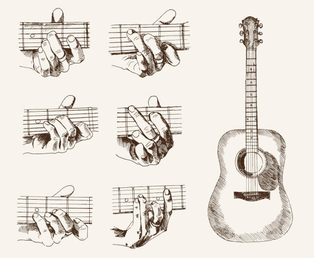 Royalty Free Flamenco Guitar Clip Art, Vector Images & Illustrations ...
