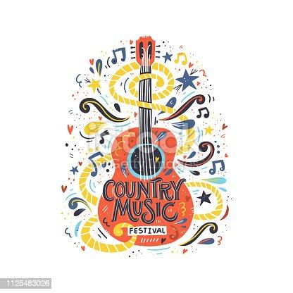 istock Guitar Country Music 1125483026