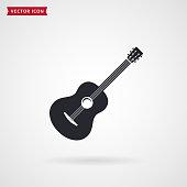 istock Guitar icon. Vector. 938498866