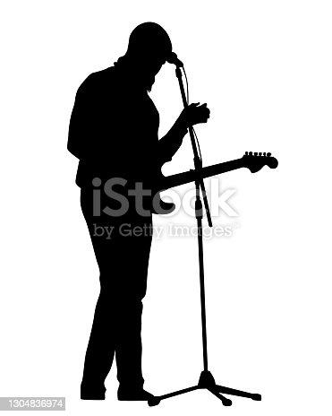 istock Guitar man 1304836974
