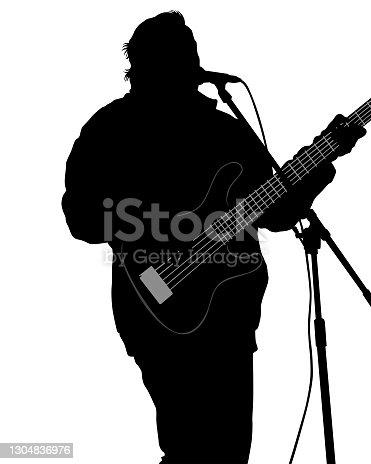 istock Guitar man 1304836976