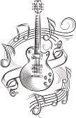 Guitar & notes