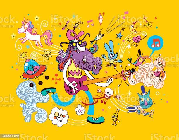 Guitar player cartoon illustration vector id689551122?b=1&k=6&m=689551122&s=612x612&h=snwm2oegxwhirspqc2vht8knt505huu8w63yn 9sdzg=