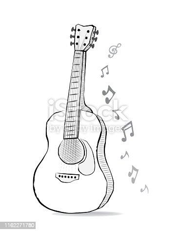 Acoustic folk song design for concert.