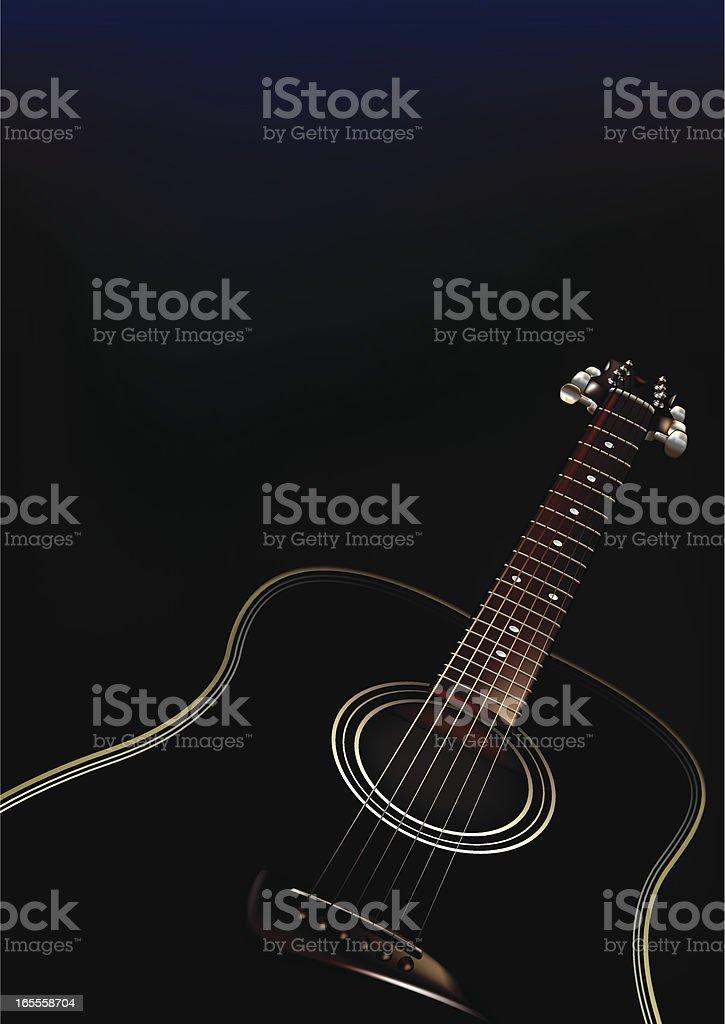 Guitar royalty-free stock vector art