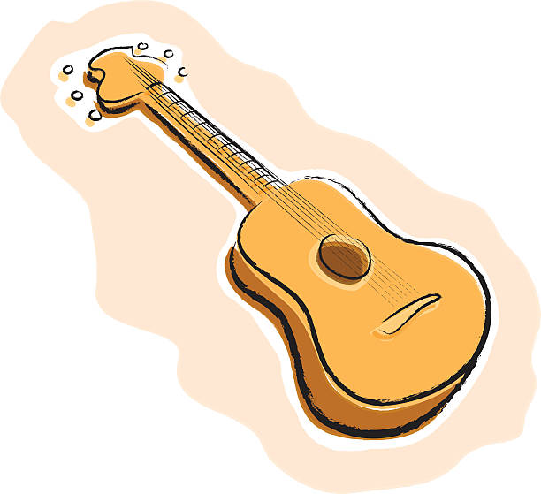 Royalty Free Spanish Guitar Clip Art, Vector Images ...
