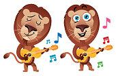 istock Guitarist Lion 1259141524
