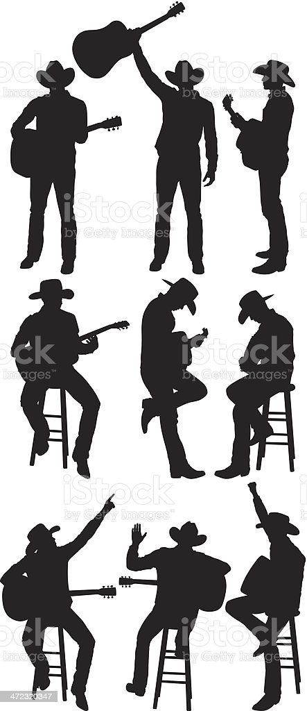 Guitarist royalty-free guitarist stock vector art & more images of acoustic guitar