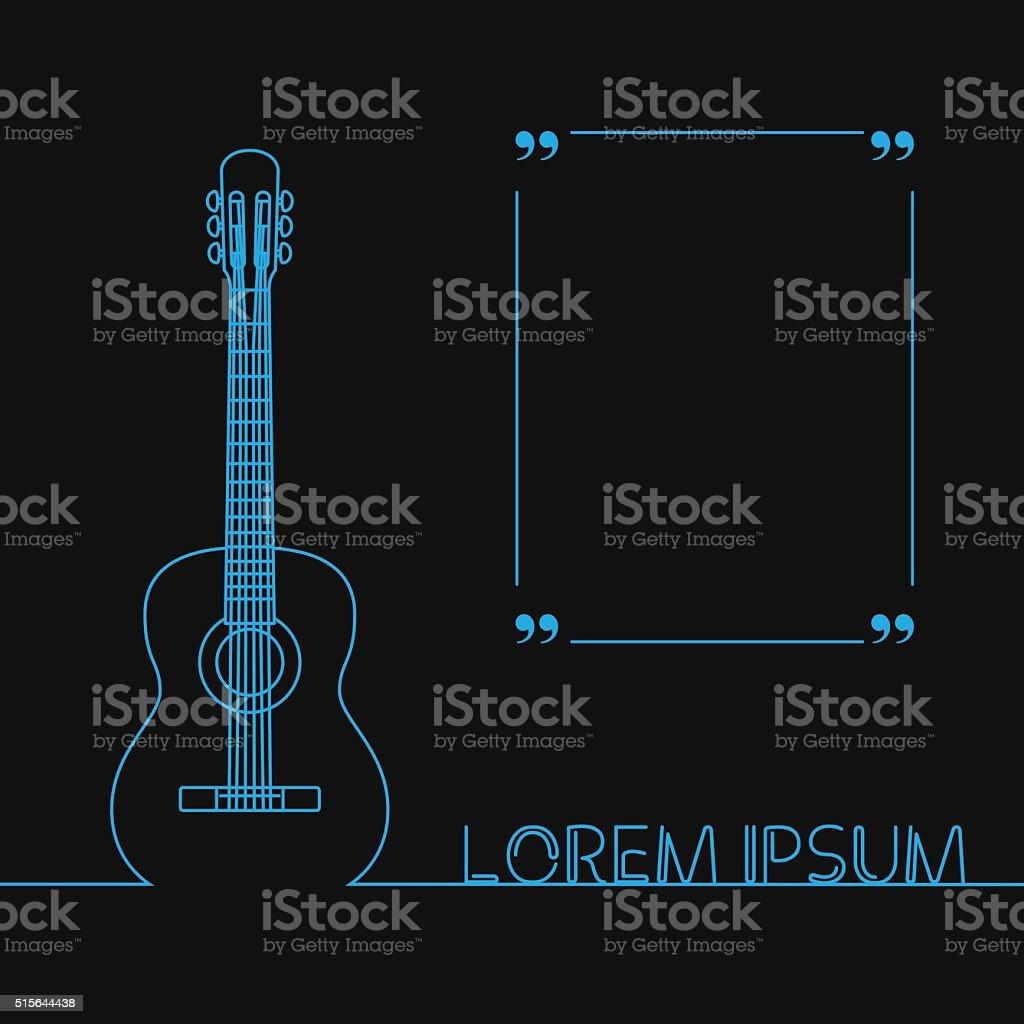 Guitars Silhouette Banner Design Stock Illustration Download Image Now Istock