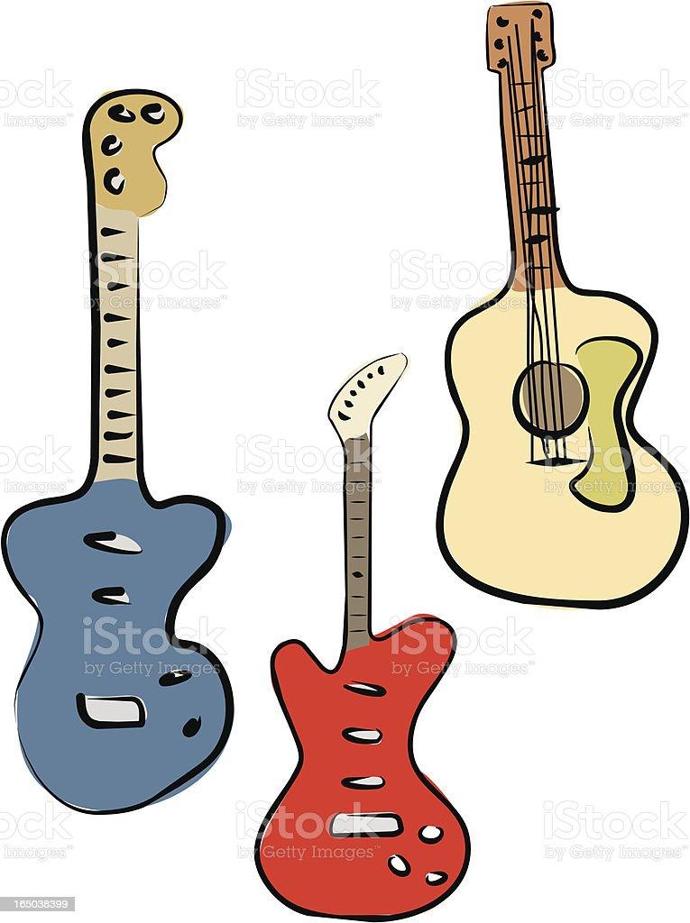 Guitars (Vector) royalty-free guitars stock vector art & more images of acoustic guitar