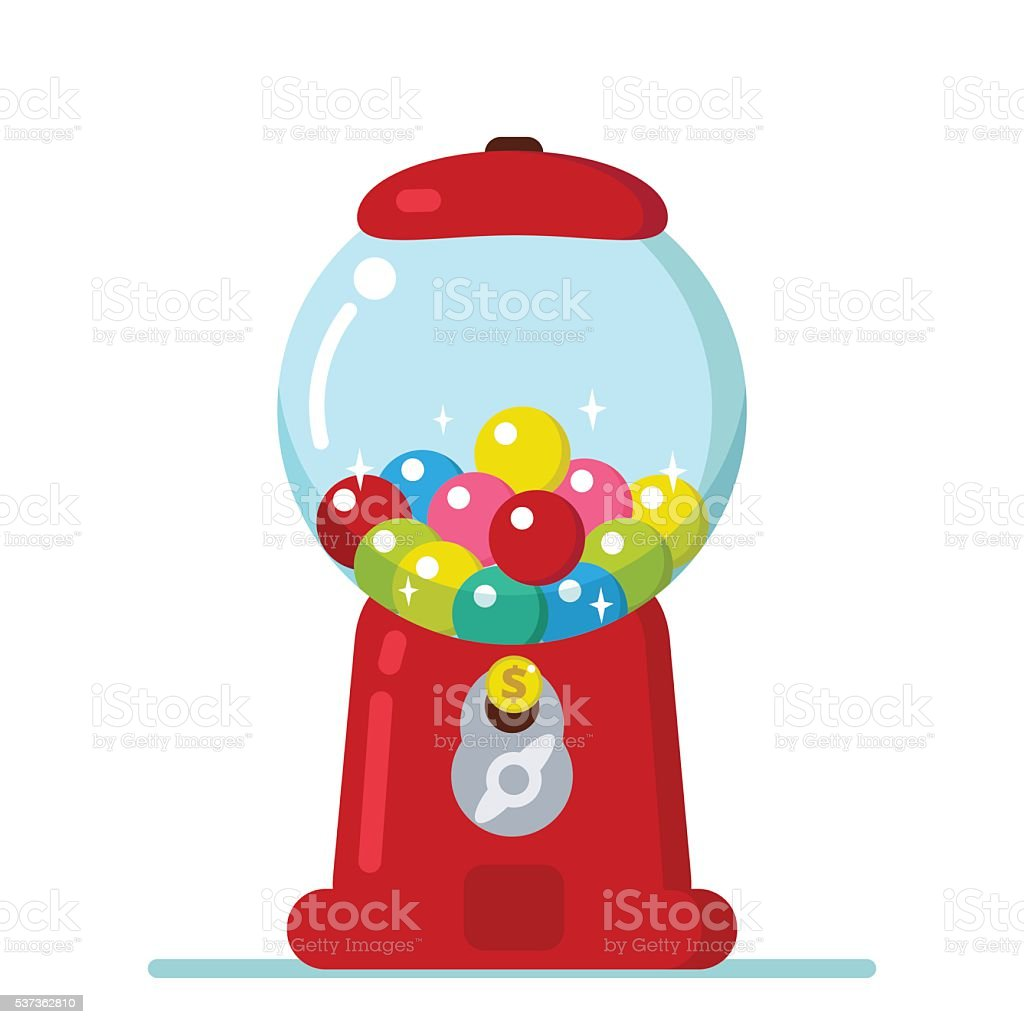 royalty free gumball machine clip art vector images illustrations rh istockphoto com Printable Gumball Machine Printable Gumball Machine