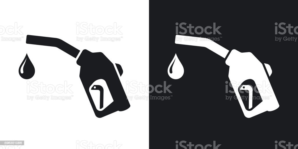 Gun for fuel pump with a drop of fuel royalty-free gun for fuel pump with a drop of fuel stock vector art & more images of arts culture and entertainment