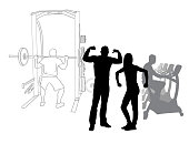 Gun Show At The Gym