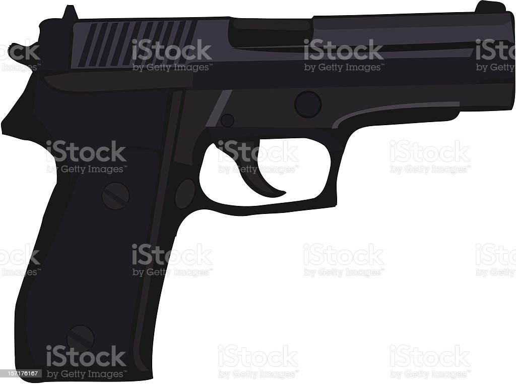 gun royalty-free stock vector art