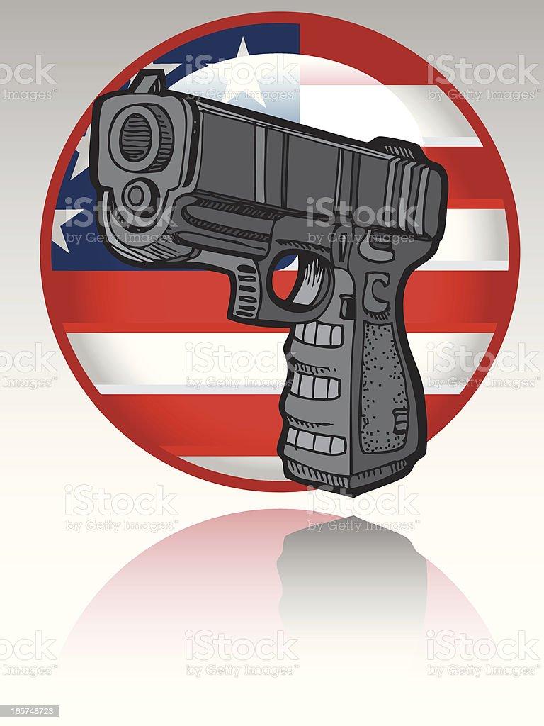 Guns Flag Icon
