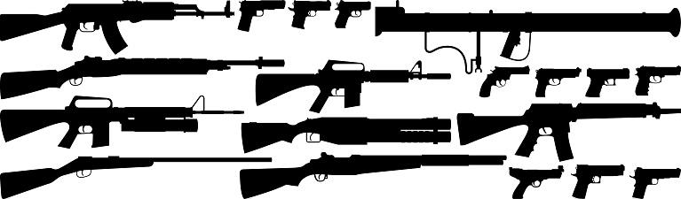 Guns.