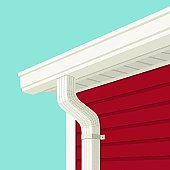 istock Gutter and Downspout 119121527