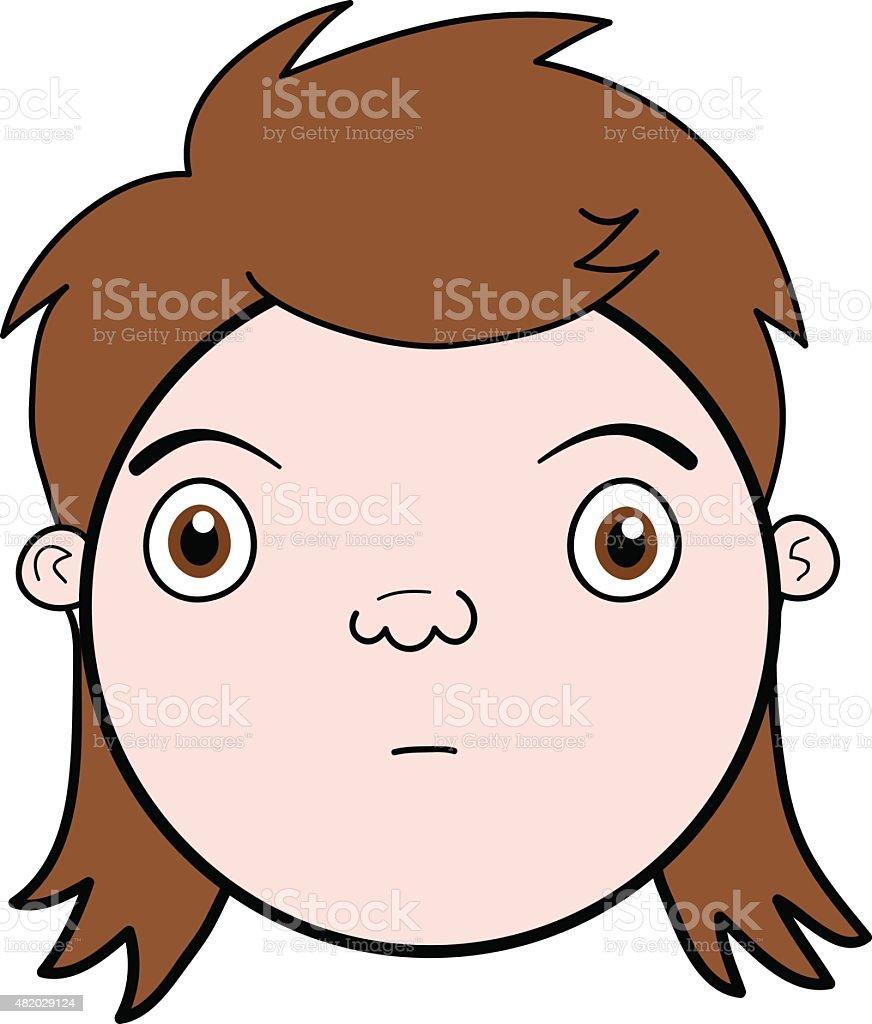 royalty free mullet hair clip art vector images illustrations rh istockphoto com Mullet Hair Clip Art mullet hair clipart