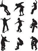 Guys skate boarding and doing trickshttp://www.twodozendesign.info/i/1.png