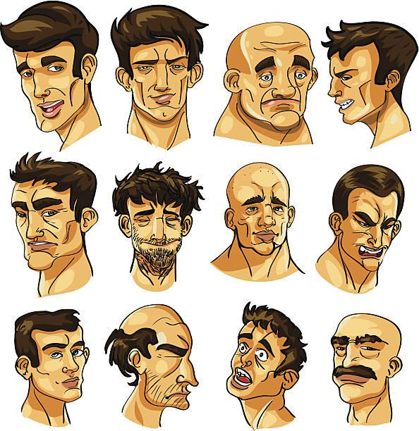 guys - old man crying cartoon stock illustrations, clip art, cartoons, & icons