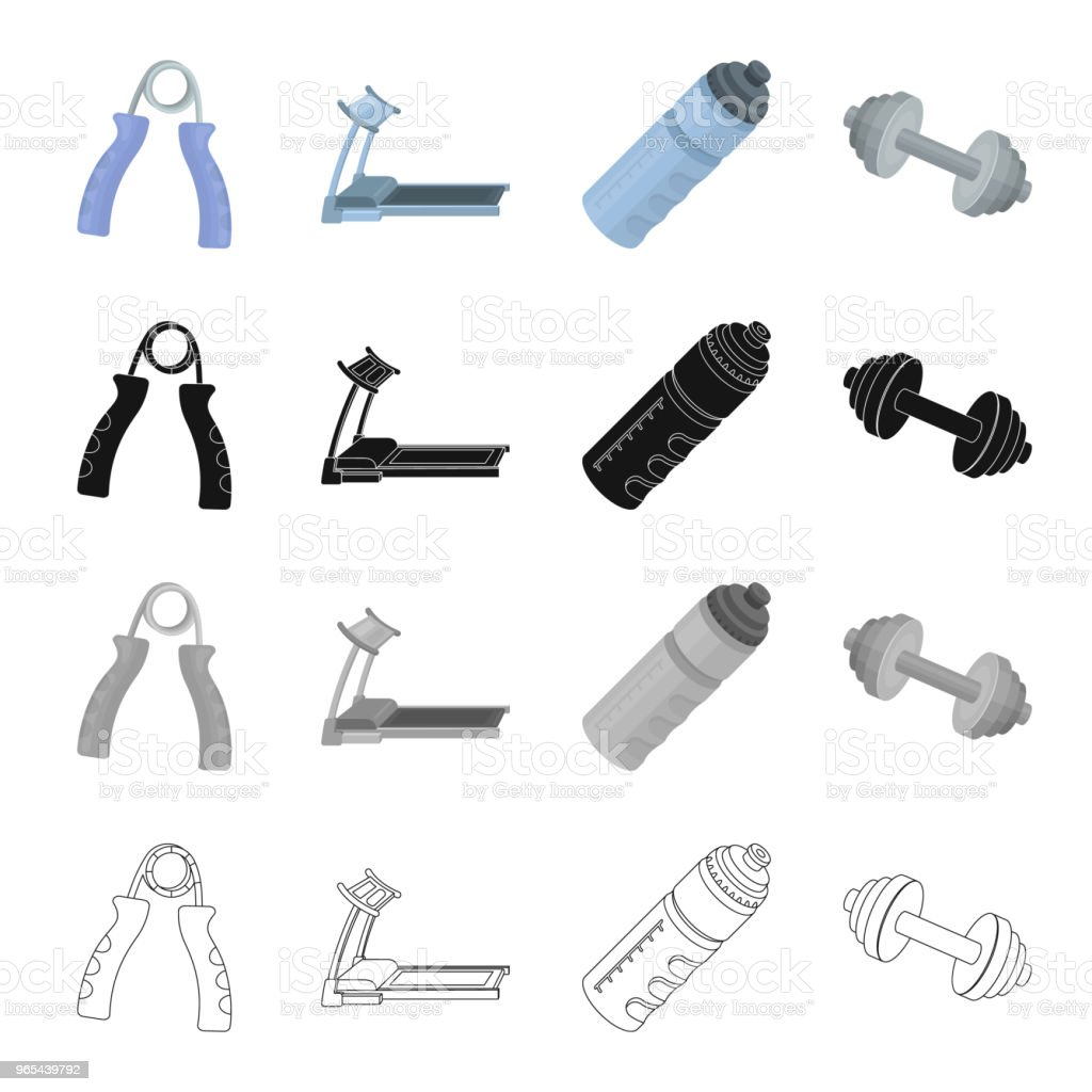 Gym and training cartoon black monochrome outline icons in set collection for design. Gym and equipment vector symbol stock web illustration. gym and training cartoon black monochrome outline icons in set collection for design gym and equipment vector symbol stock web illustration - stockowe grafiki wektorowe i więcej obrazów akcesorium osobiste royalty-free