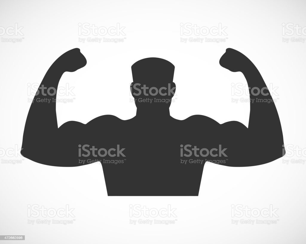 Gym design and street workout icon. vector art illustration