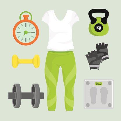 Gym digital design.