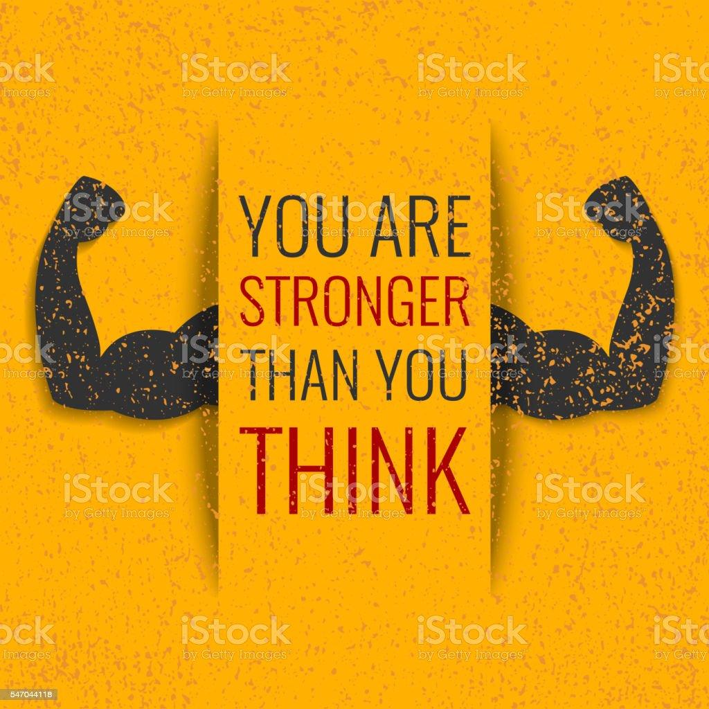 Gym motivation vector vector art illustration