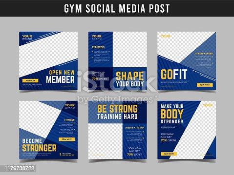 Sport banner for social media post