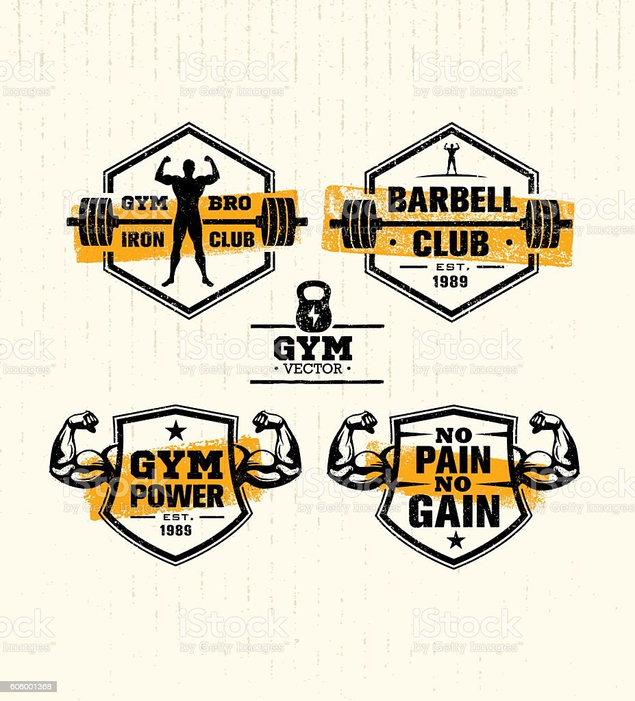 Gym Vector vector art illustration