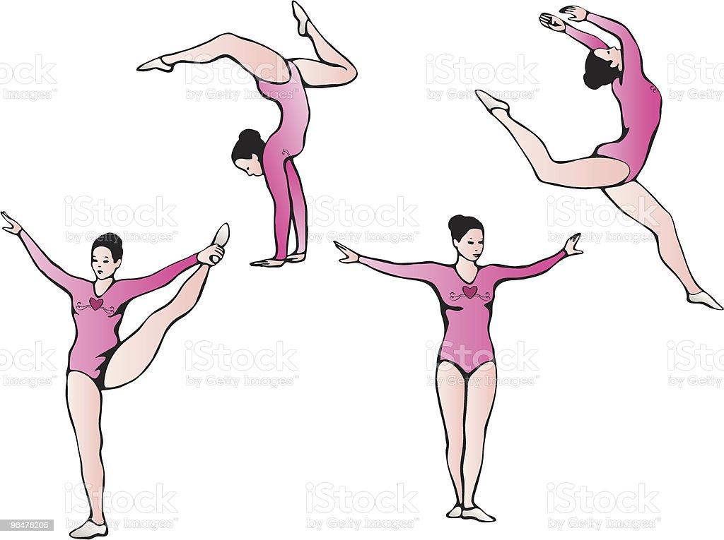 Gymnastics Clip Art royalty-free gymnastics clip art stock vector art & more images of balance
