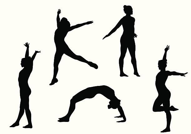 体操競技 - 体操競技点のイラスト素材/クリップアート素材/マンガ素材/アイコン素材