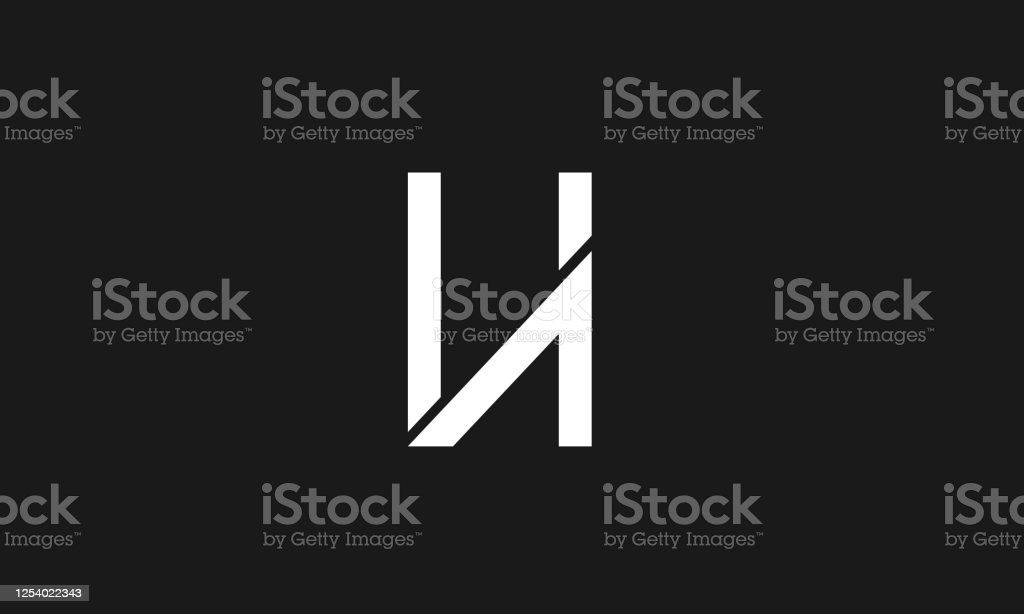 Ha Or Ah Abstract Letter Mark Icon Symbol Vector Monogram Logo Template Stock Illustration Download Image Now Istock