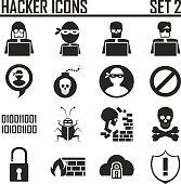 hacker icons set 2