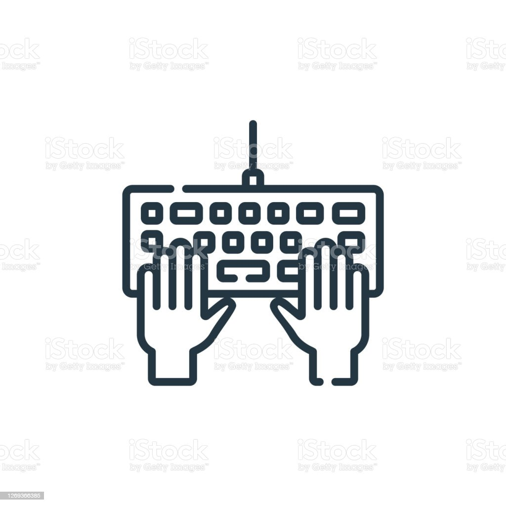 hacker vector icon isolated on white background outline thin line hacker icon for website design and mobile app development thin line hacker outline icon vector illustration stock illustration download image now https www istockphoto com vector hacker vector icon isolated on white background outline thin line hacker icon for gm1269366385 372733670