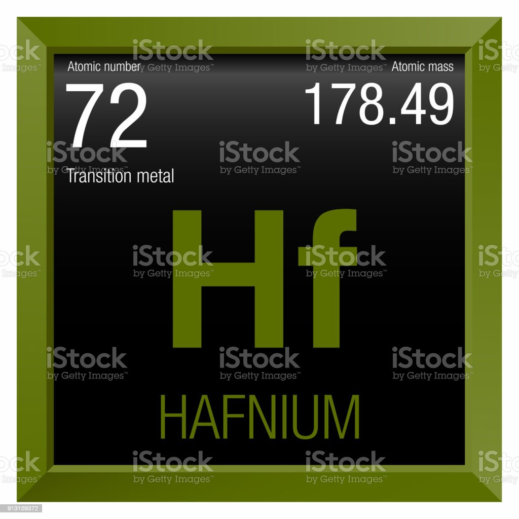 Hafnium symbol element number 72 of the periodic table of the element number 72 of the periodic table of the elements chemistry royalty urtaz Image collections