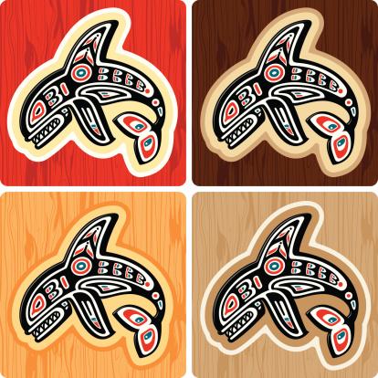 Haida style Killer Whale