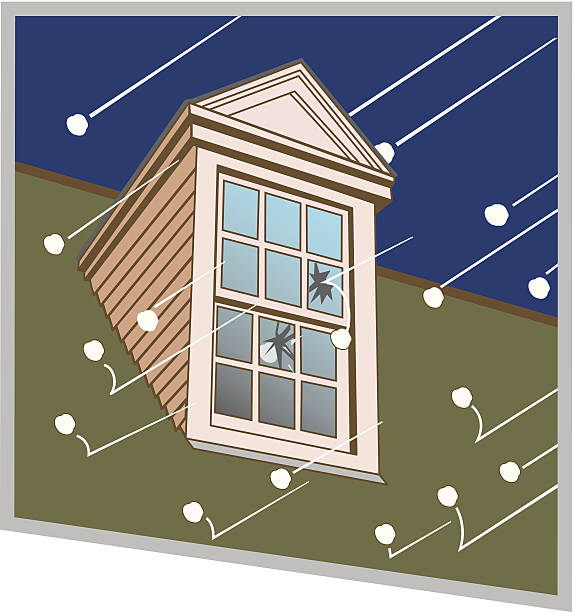Hail Breaking Window C Hail Breaking Window C hailing a ride stock illustrations