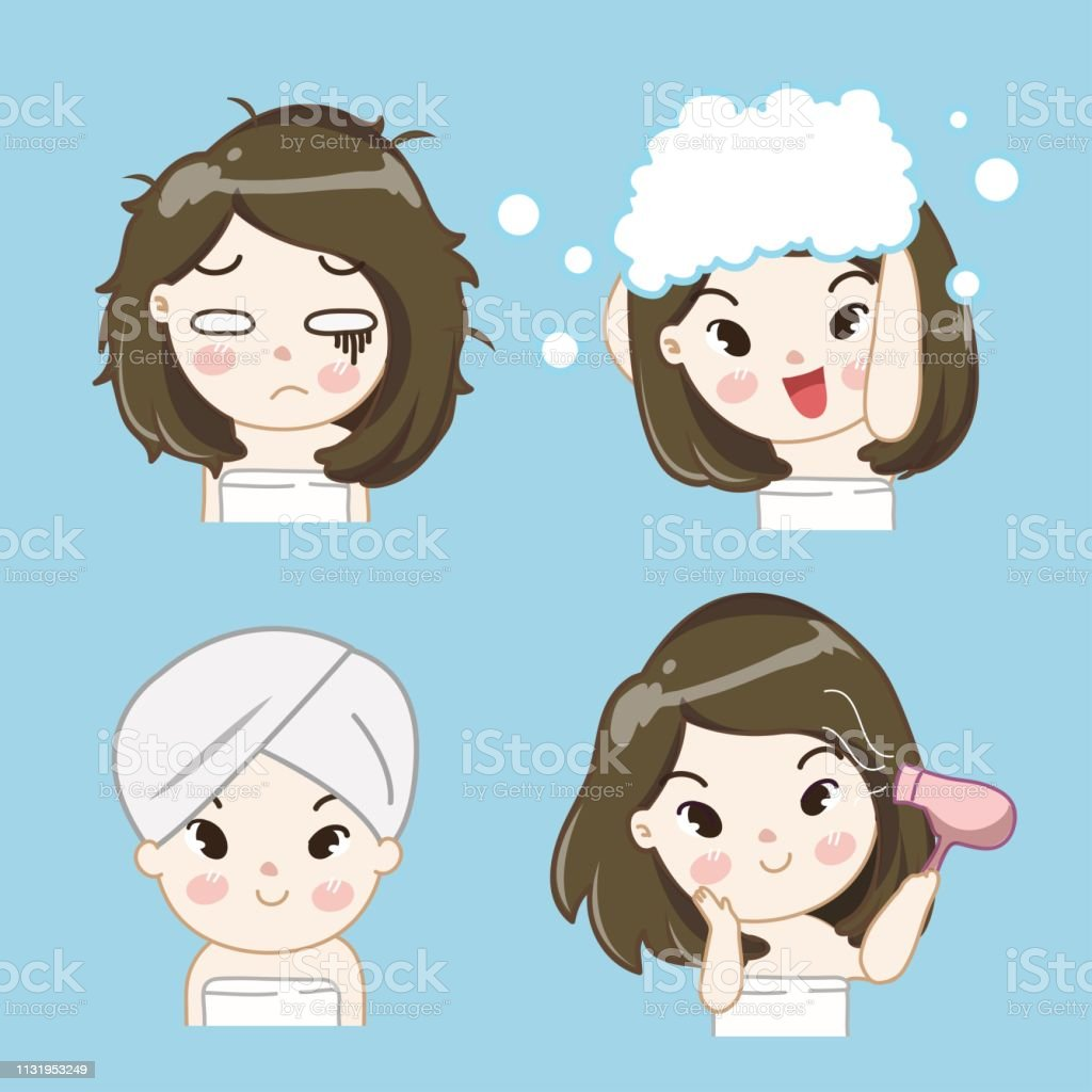Hair Care Treatment Procedures 03 Stock Illustration Download Image Now Istock
