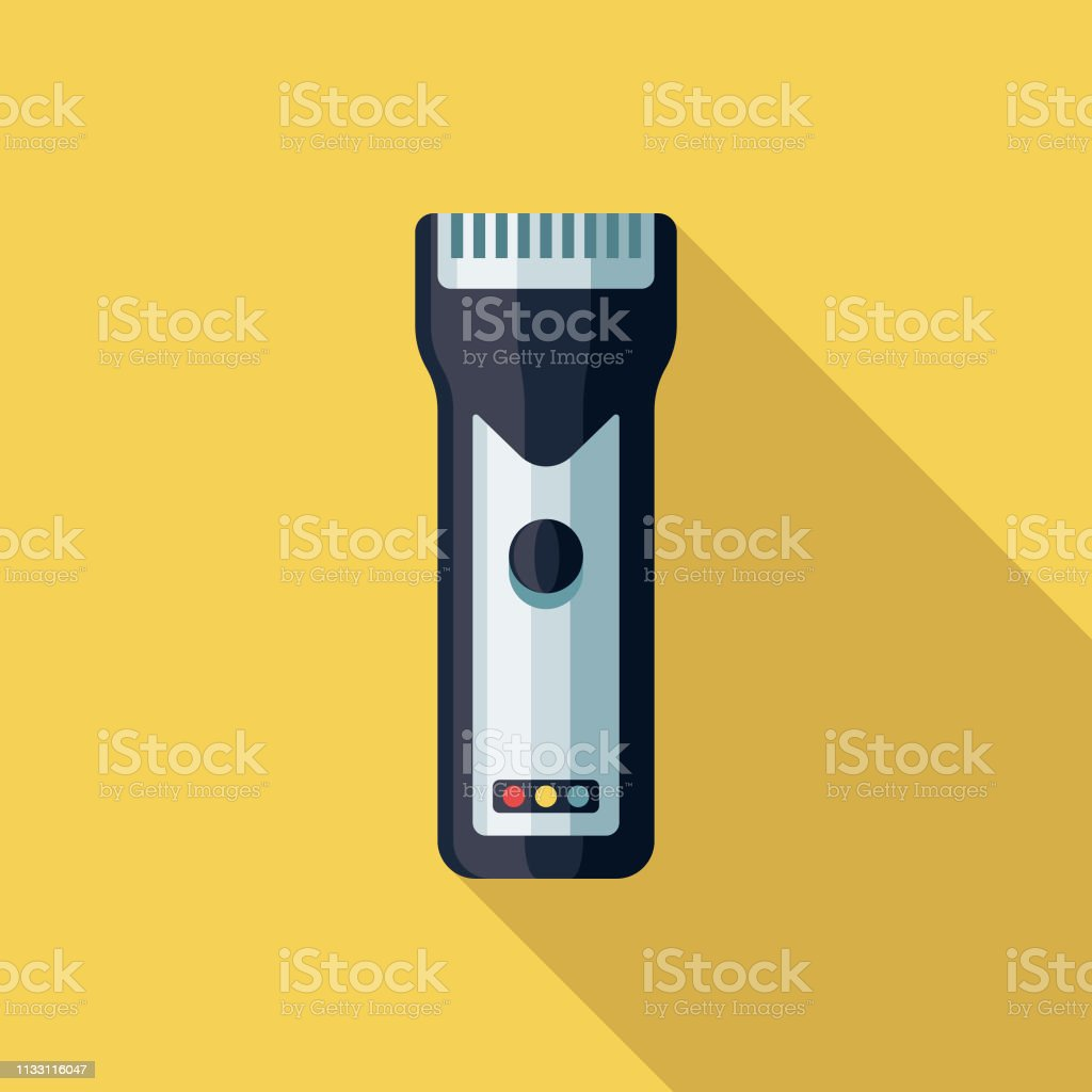 Hair Clippers Hairdressing Icon vector art illustration